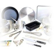 College Kitchen Starter Cookware Set - 23 Items