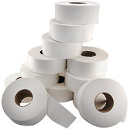 Jumbo Roll Two-Ply 9? Toilet Tissue - 3 3/8? Core