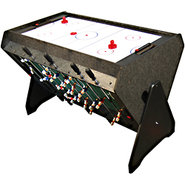 3 In 1 Rotating Game Table ? Billiards, Air Hockey
