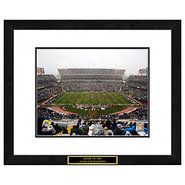 Oakland Raiders NFL Framed Double Matted Stadium P