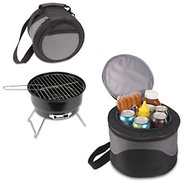 Picnic Time Caliente Portable Charcoal Grill & Coo