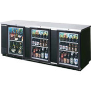 Beverage Air Back Bar Glass Door Refrigerator - 39