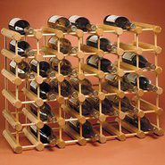 40 Bottle Peg Style Wine Rack