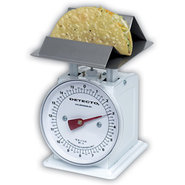 Detecto Mechanical Dial Scale with Taco/French Fry