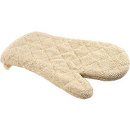 Terry Cloth Oven Mitt ? Heat Resistant To 600 Degr