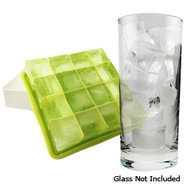 Buzbox Stackable Grid Ice Cube Trays ? Double Pack