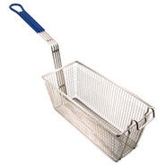 Deep Fryer Basket - Medium - Blue Handle