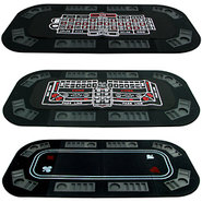 3 in 1 Poker, Craps & Roulette Tri-Fold Tabletop G