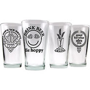 Beer Geek Pint Collection - Set of 4