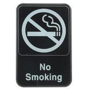 No Smoking Sign - Plastic - Large