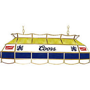 Coors Banquet Stained Glass Pool Table Light