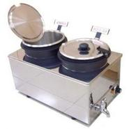 Dual Food or Soup Stainless Steel Warmer
