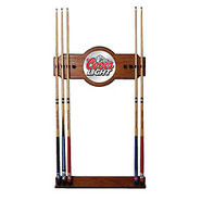 Coors Light Billiards Wooden Pool Cue Rack