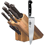 Victorinox German Forged Hardwood Knife Block Set