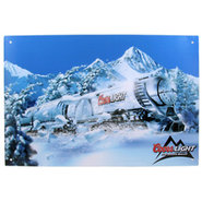 Coors Light Love Train Metal Bar Sign