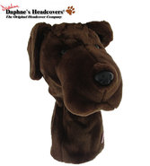 Daphne&#39;s Chocolate Lab Headcover