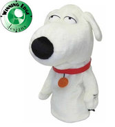 Novelty Family Guy Talking Brian Headcover