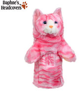 Daphne&#39;s Pink Tabby Cat Headcover