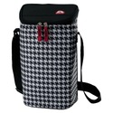Two Bottle Wine Tote - Houndstooth