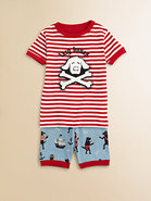 Toddler's & Little Boy's Pirate Dog Pajama Set