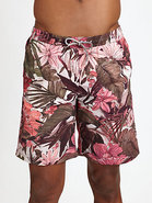 Long Classic Swim Shorts
