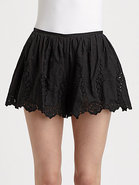 Eyelet Lace Shorts