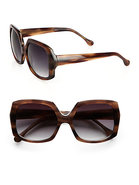 Devon Square Wayfarer Acetate Sunglasses