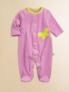 Infant's Terry Butterfly Footie
