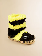 Toddler&#39;s &amp; Little Girl&#39;s Bee Plush Slippers