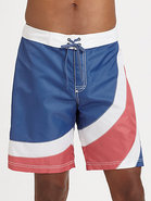 Flag Wave Board Shorts