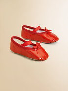 Infant&#39;s Cha Cha Patent Leather Ballerina Flats