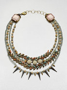 Pretty in Punk Multi-Row Necklace