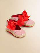 Infant's Bow-Tied Espadrilles