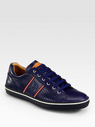Olbia Perforated Leather Sneaker