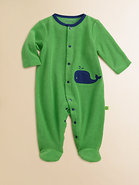 Infant&#39;s Terry Whale Footie