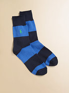 Striped Crew Rugby Socks