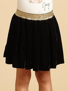 Toddler's & Little Girl's Velvet Skirt