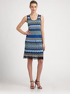 Zigzag Knit Dress