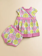 Infant&#39;s Daisy Dress &amp; Bloomers Set