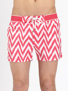 Herringbone Ibiza Swim Trunks