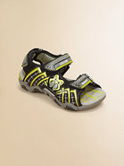 Little Boy's & Boy's Light Up Spiderweb Sportshoes