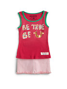 Toddler's & Little Girl's   Be True   Ringer Tank