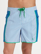 Volley Swim Trunks/Mini-Stripe