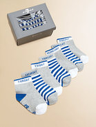 Infant&#39;s Seven-Piece Days Of The Week Sock Set