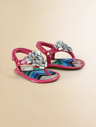 Infant's Jeweled Sandals