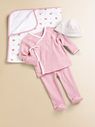 Layette&#39;s Two-Piece Kimono Shirt &amp; Pants Set
