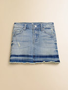 Toddler&#39;s &amp; Little Girl&#39;s Distressed Denim Skirt