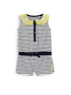 Infant's Striped Romper