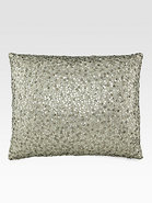 Modern Classics Celadon Sequin Decorative Pillow