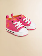 Infant's Canvas Lace-Up High-Top Sneakers